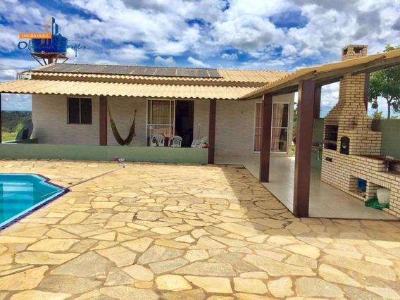 Sítio Com 3 Dormitórios À Venda, 2500 M² Por R$ 220.000 - Zona Rural - Alexânia/go - Si0002