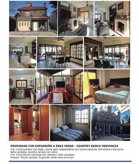 Casa En Venta Country Club Banco Provincia!!!!!