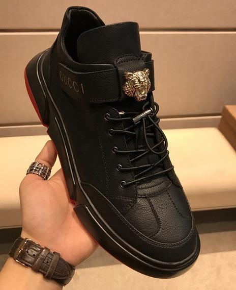 Zapatillas Gucci Color Negro Tallas 38 A 44 Eur