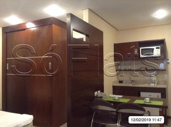 Flat Na Chacara Santo Antonio Para Você Investir Ou Morar - Imperdível - Sf26055