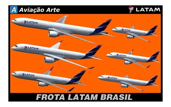 Aeronave Fsx - Frota Latam Completa