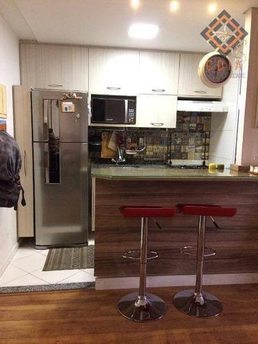 Imagem 1 de 30 de Apartamento Com 2 Dormitórios À Venda, 47 M² Por R$ 310.000,00 - Sacomã - São Paulo/sp - Ap51848