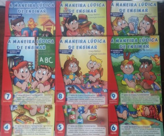 Coleção: A Maneira Lúdica De Ensinar, 9 Volumes, Completa
