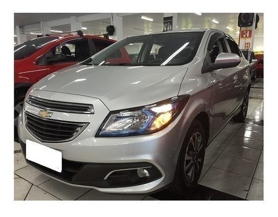 Chevrolet Onix 1.4 Ltz Prata 8v Flex 4p Manual 2014