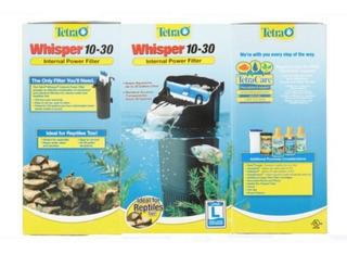 Tetra Whisper Galones Filtro Alimentación Acuario 10 A 30 Xm
