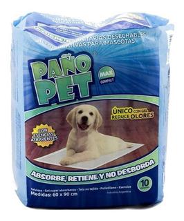 Paños Pañales Adiestramiento 90x60 Para Perros Paño Pet X10