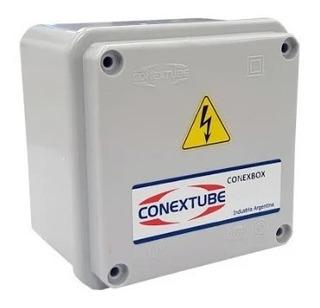 Caja De Paso Aislante Conexbox 10x10x5 Cm Conextube
