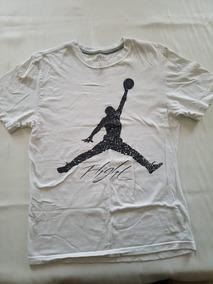 Camisa Marca Jordan Jumpman Flight Talla M Usada