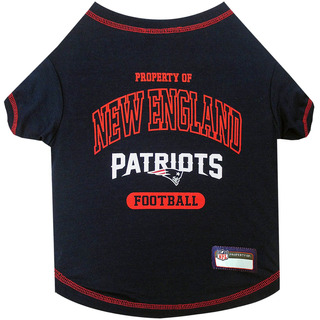 Pets First New England Patriots T-shirt, X-small