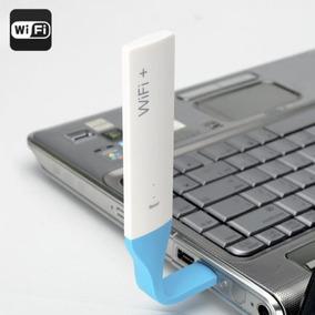 Extensor De Alcance Wi-fi Usb Flexível 2.4ghz 150mbps Led