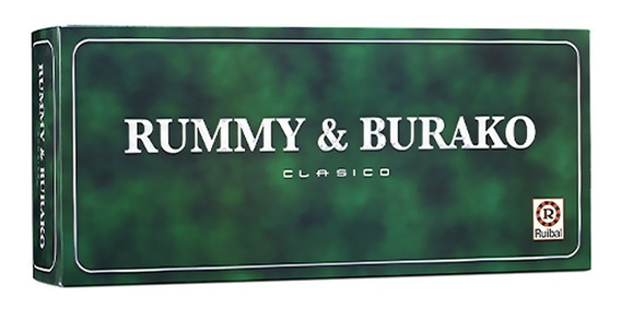 Rummy & Burako Ruibal Clasico Juego Versión Original Alclick