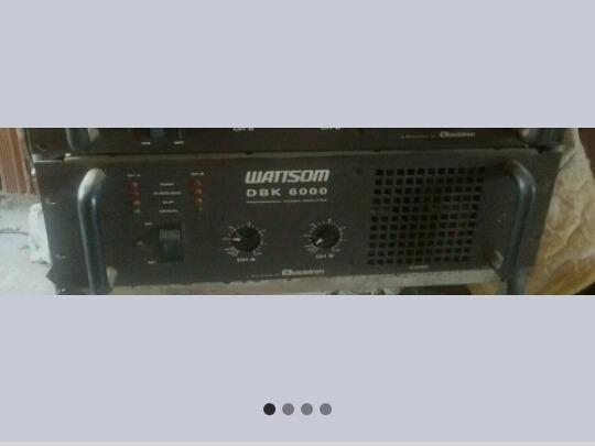 Amplificador Wattson Dbk 6000