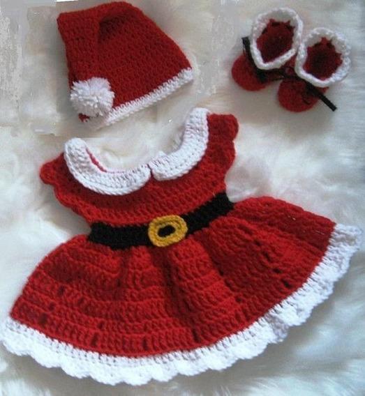 Vestidos Tejidos Crochet Beba Ropa Para Bebés En Mercado