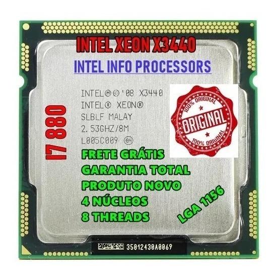 Processador Core I7 880 = Intel X3440 2.93ghz 1156 + Brinde