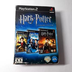 Jogo Harry Potter Collection Ps2 Box Completo Original Raro!