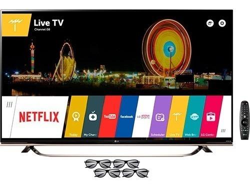 Tv LG 4k 55'' Semi-nova 3d