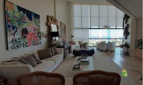 Apartamento Com 4 Dormitórios À Venda, 280 M² Por R$ 3.270.000,00 - Horto Florestal - Salvador/ba - Ap0843