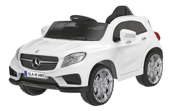 Carrinho Elétrico Xalingo Mercedes Benz, Branco