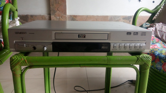 Dvd Marca Pro-imagen Modelo 5600 Con Control Remoto 10 Verde