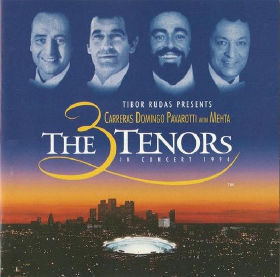 The 3 Tenors In Concert 1994 - Cd Música Clássica