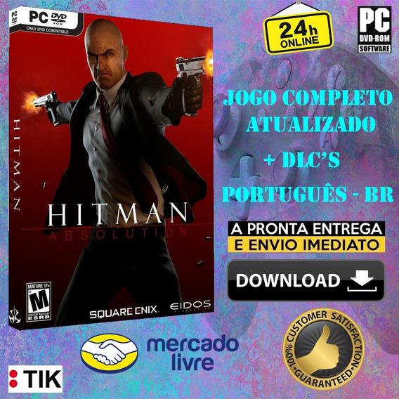Hitman Absolution - Completo - Todas Dlc
