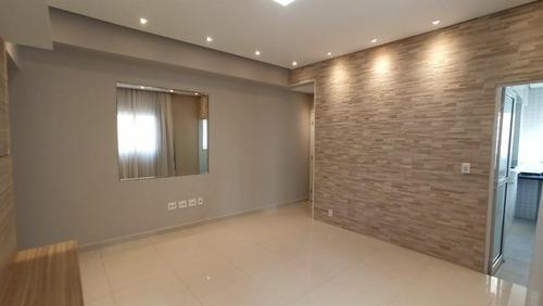 Apartamento Com 3 Dormitórios À Venda, 82 M² Por R$ 715.000,00 - José Menino - Santos/sp - Ap5795