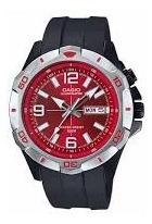 Reloj Casio Diver Rojo