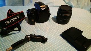 Camara Profesional Sony Alpha 37 A37 Reflex A Meses No Canon