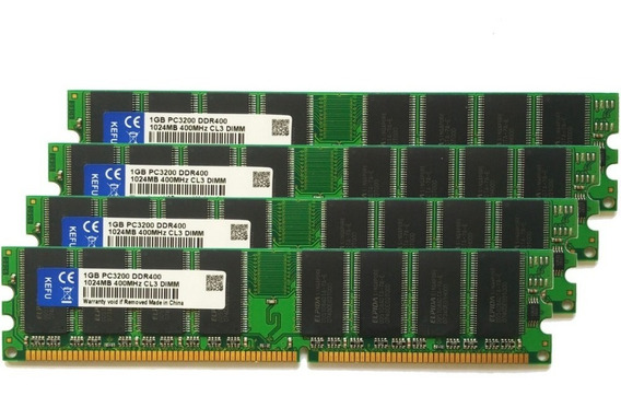 Memorias Ram Ddr1 256mb 333/400 Mhz