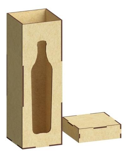 Imagen 1 de 3 de 24 Caja Para Vino En Mdf, Boda, Xv Años, Decoración Rg588