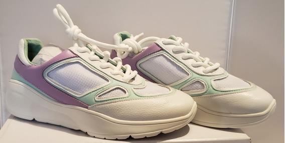 Zapatos Zapatillas Tacones Tenis Steve Madden Current Blanco