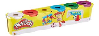 Play Doh 6 Botes 672 Gr Hasbro
