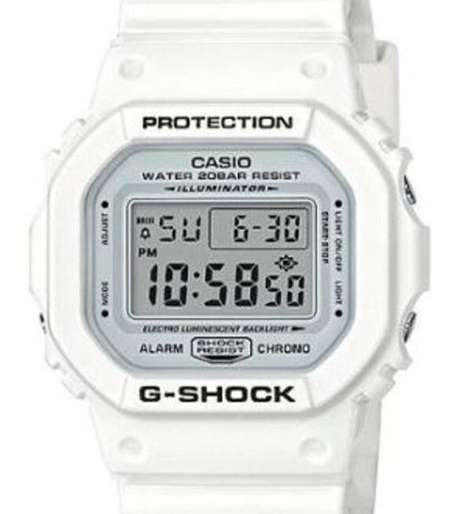 Relógio Casio Unissex G-shock Branco Dw-5600mw-7dr