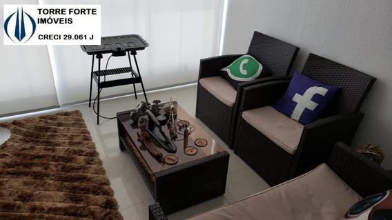 Lindo Apartamento Mobiliado Com 1 Dormitório E 1 Vaga No Jd Anália Franco - 1416