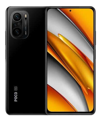 Imagen 1 de 4 de Xiaomi Poco F3 5G Dual SIM 256 GB negro nocturno 8 GB RAM