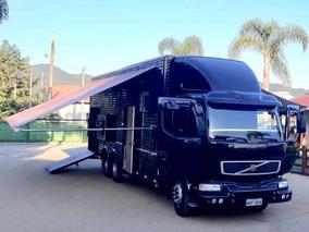 Caminhão Vm23-240 6x2 Com Baú Completo