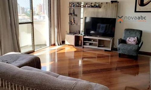 Imagem 1 de 13 de Apartamento À Venda, 140 M² Por R$ 590.000,00 - Vila Bastos - Santo André/sp - Ap2444
