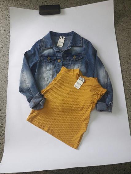 Campera Jeans Dama