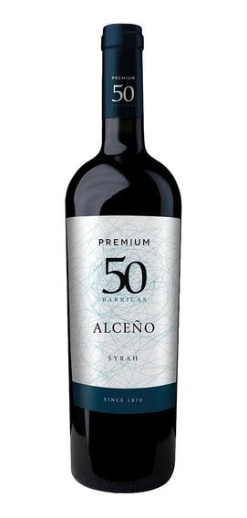 Vinho Tinto Esp. Premiun 50 Barricas Syrah 750 Ml - Alceno