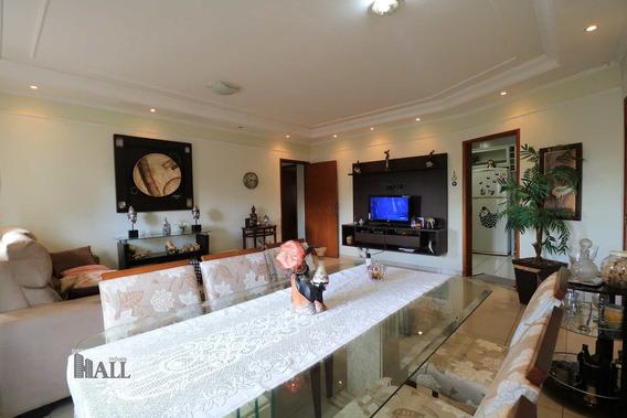 Apartamento À Venda Parque Estoril, 144m², - S.j. Do Rio Preto - V6344