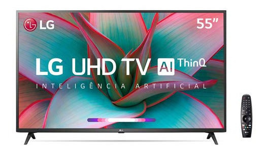 Smart Tv 4k LG Led 65 Controle Smart E Wi-fi - 65un7310psc