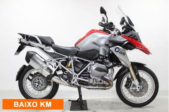 Bmw R 1200 Gs Premium 2016 Vermelha