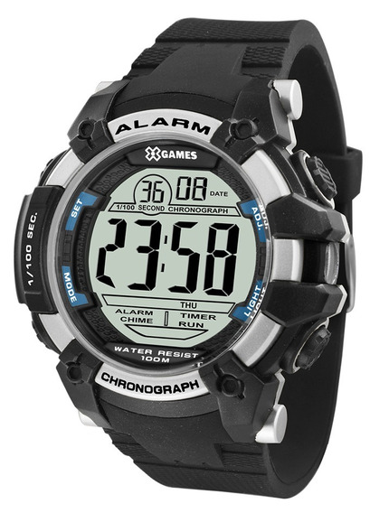 Relógio X-games Masculino Digital Xmppd542 Bxpx Prata