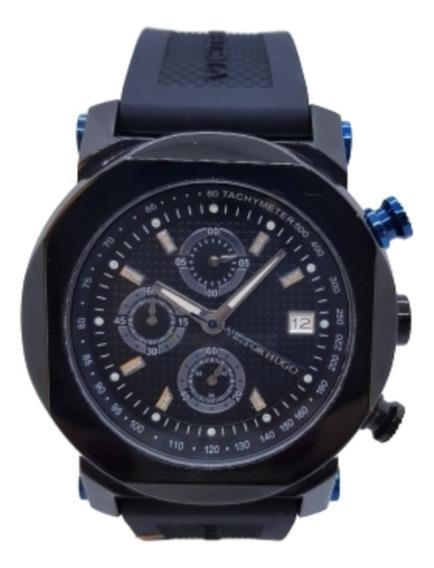 Relógio Masculino Preto - Victor Hugo Vh10065gsb/02