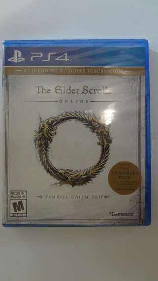 The Elder Scrolls Ps4 Mídia Física Novo E Lacrado