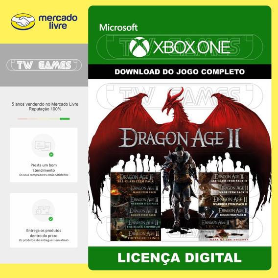 Dragon Age 2 + 12 Dlcs Digital Retrocompativel Xbox One