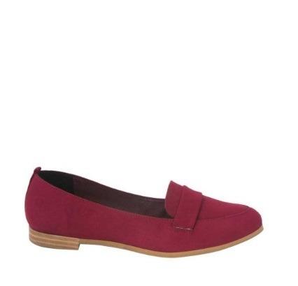 Zapato Vi Line Fashion Color Merlot 186456 Vc-18 F