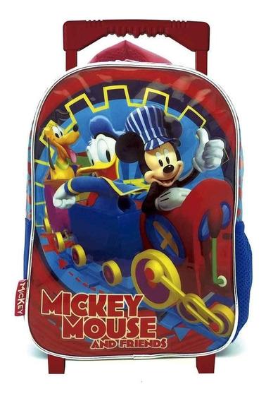 Mochila Mickey Con Carro Jardin