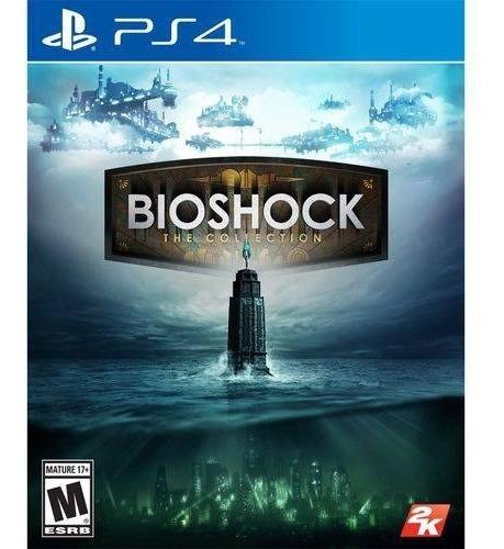 Bioshock: The Collection - Ps4 Mídia Físca Lacrado