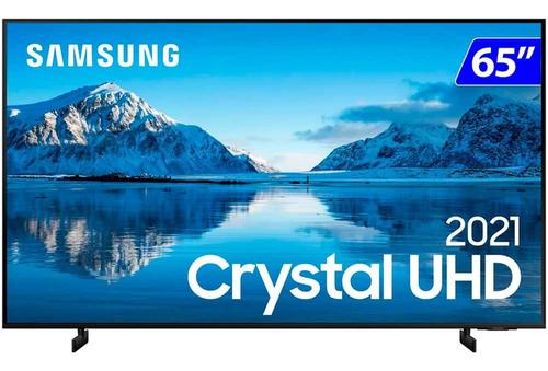 Imagem 1 de 5 de Smart Tv Samsung 65 4k Wi-fi Tizen Crystal Uhd